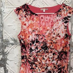 Dress barn signature Sadie dress pink floral